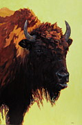 Bison Posters - Private First Class Poster by Patricia A Griffin