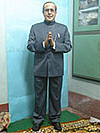President Sculptures - Prnab Mukherjees Wax Statue by Susanta Ray