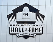 Pigskin Prints - Pro Football Hall Of Fame Print by Robert Harmon