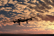 Lancaster Bomber Digital Art - Pro libertate 106 Squadron RAF by James Biggadike