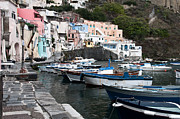 Harbour Framed Prints - Procida Framed Print by Marion Galt
