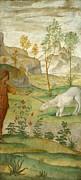 Famous Artists - Procris and the Unicorn by Bernardino Luini