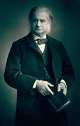 Professor Thomas H Huxley Print by Stanislaus Walery