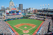 Cleveland Indians Stadium Prints - Progressive Field Print by Patrick Friery