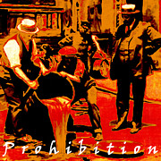 Bars Digital Art - Prohibition with Text 20130218 by Wingsdomain Art and Photography