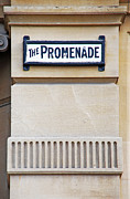 Cheltenham Framed Prints - Promenade sign in Cheltenham Framed Print by Luis Santos
