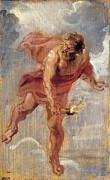 Famous Artists - Prometheus by Peter Paul Rubens
