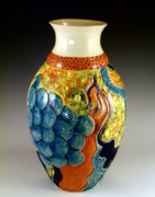 Bottles Ceramics - Prometheus Secret by John OBrien