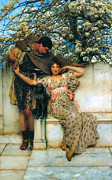 Promise Prints - Promise of Spring Print by Sir Lawrence Alma Tadema