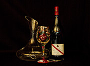 Wine Lovers Prints - Property of the Chef Print by John Stuart Webbstock
