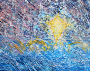 Anne Cameron Cutri Prints - Prophetic Message Sketch Painting 29 WINDS OF CHANGE Print by Anne Cameron Cutri