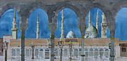 Prophet's Mosque Medina Print by Martin Giesen