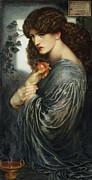Proserpine Print by Dante Charles Gabriel Rossetti