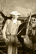 Precious Metals Prints - Prospector Clyde Print by Mary Ely