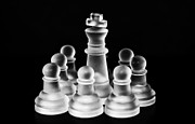 Checkmate Photo Framed Prints - Protected Framed Print by Arisha Singh