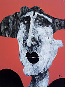 Figurative-abstract Posters - Protesto No. 14 Poster by Mark M  Mellon