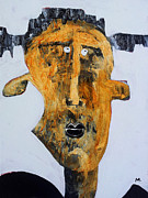 Outsider Mixed Media Prints - Protesto No. 2 Print by Mark M  Mellon
