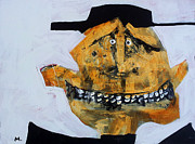 Outsider Art Mixed Media Metal Prints - Protesto No. 3 Metal Print by Mark M  Mellon