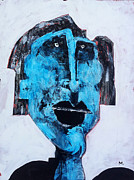 Outsider Art Mixed Media Metal Prints - Protesto No. 4 Metal Print by Mark M  Mellon