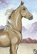 Sherry Goeben - Proud Palomino Stallion...