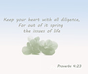 Trilby Cole - Proverbs 4  23