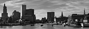 David Gordon - Providence Panorama I BW