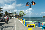 Malecon Prints - Providencia Colombia Malecon Print by Bryan Pridgeon