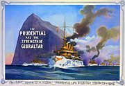 Advertisement Mixed Media Prints - Prudential Life Insurance Poster Print by Charles Ross