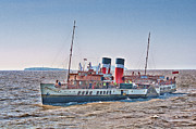 Ps Waverley Approaching Penarth Print by Steve Purnell