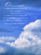 Bible Digital Art Posters - Psalm 108 Poster by Dale Jackson