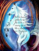The Heavens Paintings - Psalm 19   by Amanda Dinan
