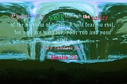 Evil Digital Art Originals - Psalm 23 by Vitho R