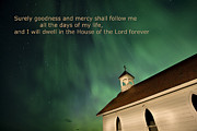 Church Digital Art Metal Prints - Psalm 23 Metal Print by Mark Duffy