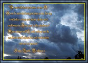Alpha And Omega Prints - Psalm 57 One Print by Glenn McCarthy Art and Photography