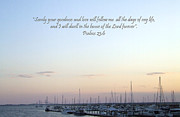 Inspirational Prayers Posters - Psalms 23 Poster by Andrea Anderegg