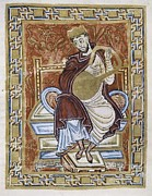 Miniatures Art - Psalter Of Egbert,. 10th C by Everett