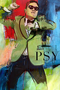 Psy Print by Corporate Art Task Force