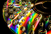 Long Exposure Mixed Media - Psychedelic Bubbles by James DiRienzo