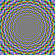 Optical Illusion Digital Art Posters - Psychedelic Web Poster by Colin  Forrest