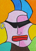 Germany Pastels Metal Prints - Psychobilly Metal Print by Sven Fischer