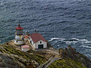 Bill Gallagher Photography Prints - Pt Reyes Lighthouse Print by Bill Gallagher