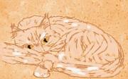 Judy Via-Wolff - ptg   Cameo Cat