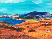 Judy Via-wolff Art - Ptg   Italian Countryside by Judy Via-Wolff
