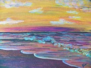Judy Via-wolff Art - ptg  Sanibel Sunset by Judy Via-Wolff