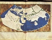 Cartography Photos - Ptolemyclaudius Ptolemaeus  C. Ad 100 - by Everett