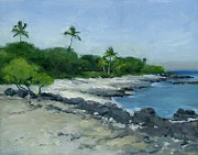 Stacy Vosberg Prints - Puako Cove Print by Stacy Vosberg