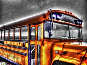Rural School Bus Photos - Public Education by Dan Stone