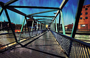 Malaga Photos - Puente de la Trinidad. Malaga Bridges. Spain by Jenny Rainbow