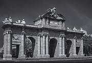 Independance Photo Posters - Puerta De Alcala Poster by Susan Candelario