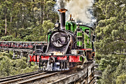 Yarra Valley Prints - Puffing Billy Print by Matt Jones